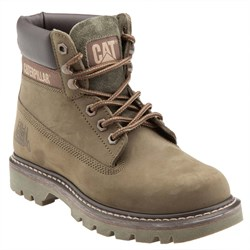 Caterpillar Colorado Unisex Bot DARK OLIVE // NUBUK